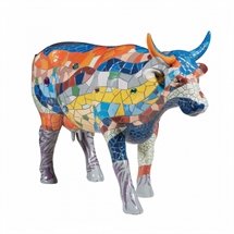 CowParade - Barcelona Cow, Large