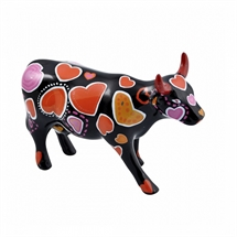 CowParade - Cow-ween of Hearts, Medium