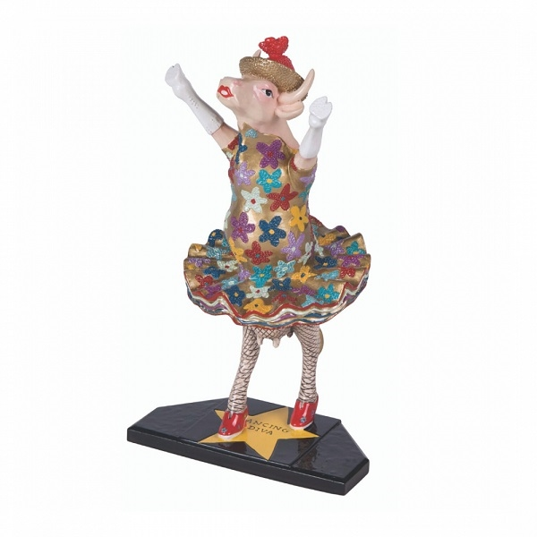 CowParade - Dancing Diva, Medium