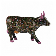 CowParade - Flower Power Cow, Medium