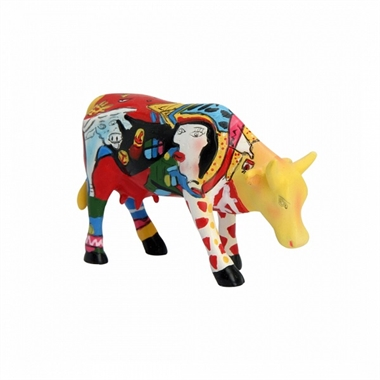 CowParade - Homage to Picowso\'s African Period, Small