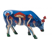 CowParade - Magic Mushy, Large