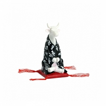 CowParade - Meditating Cow, Small