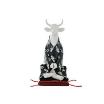 CowParade - Meditating Cow, Medium