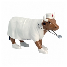 CowParade - Nurse Nightencow, Medium