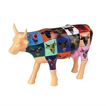 CowParade - Pop Art Cow , Large
