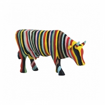 CowParade - Striped cow, Small
