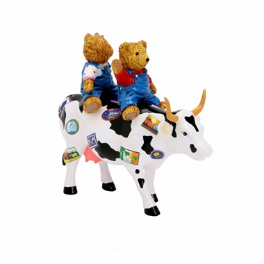CowParade - Teddybears on the Moove, Medium