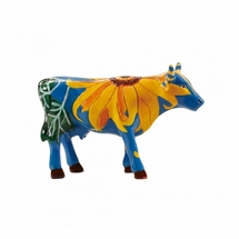 CowParade - Udderly Sun Flowers, Small