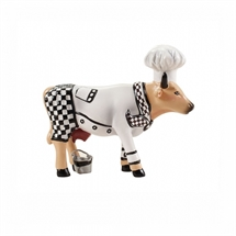 CowParade - Chef Cow, size Small