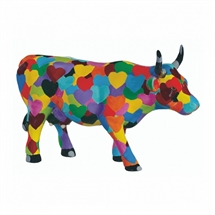 CowParade - Heartstanding Cow, Medium
