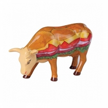 CowParade - Moovin Veggie Burger, Medium
