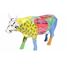 CowParade - Vaca Gironina, Large